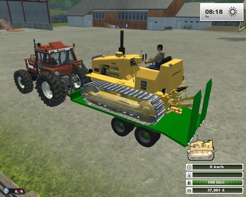 Caterpillar D4E Fsscre54
