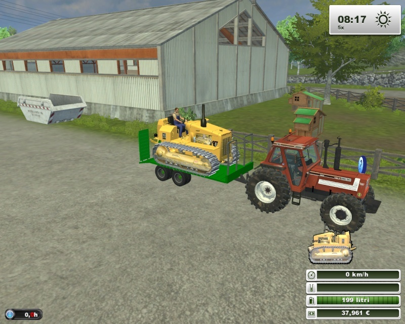 Caterpillar D4E Fsscre55