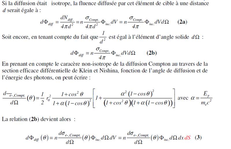 Notes de calcul, rayonnement diffusé Difusi11
