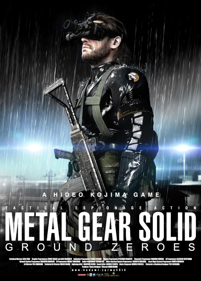 Metal Gear Solid V: Ground Zeroes Metal-11