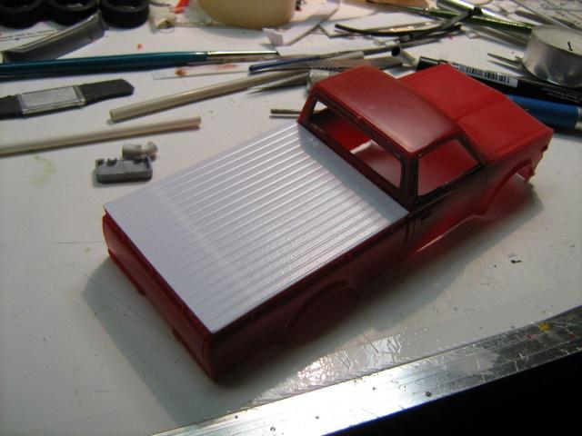 Pickup Datsun 1/32 Revell, sauce F2 Datsun16