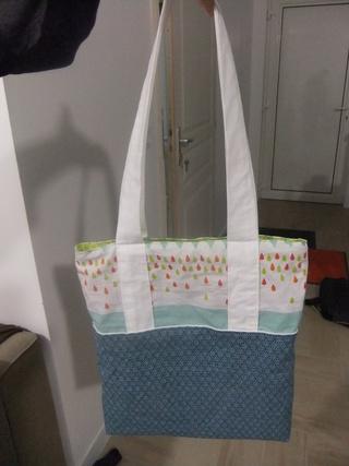 [Couture] Un Tote Bag amélioré pour ma soeur  Dscf6517