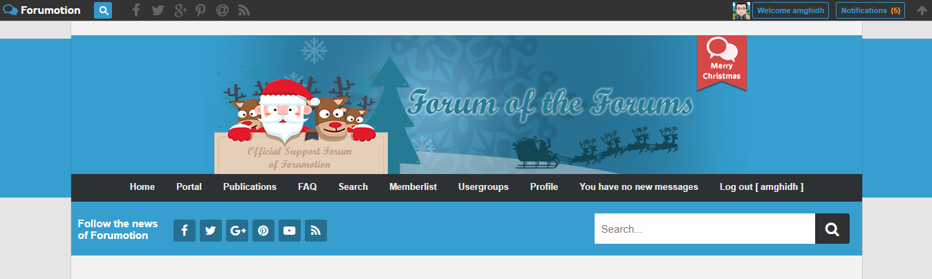 Christmas Banner Competition (The  entries) Chrisp10