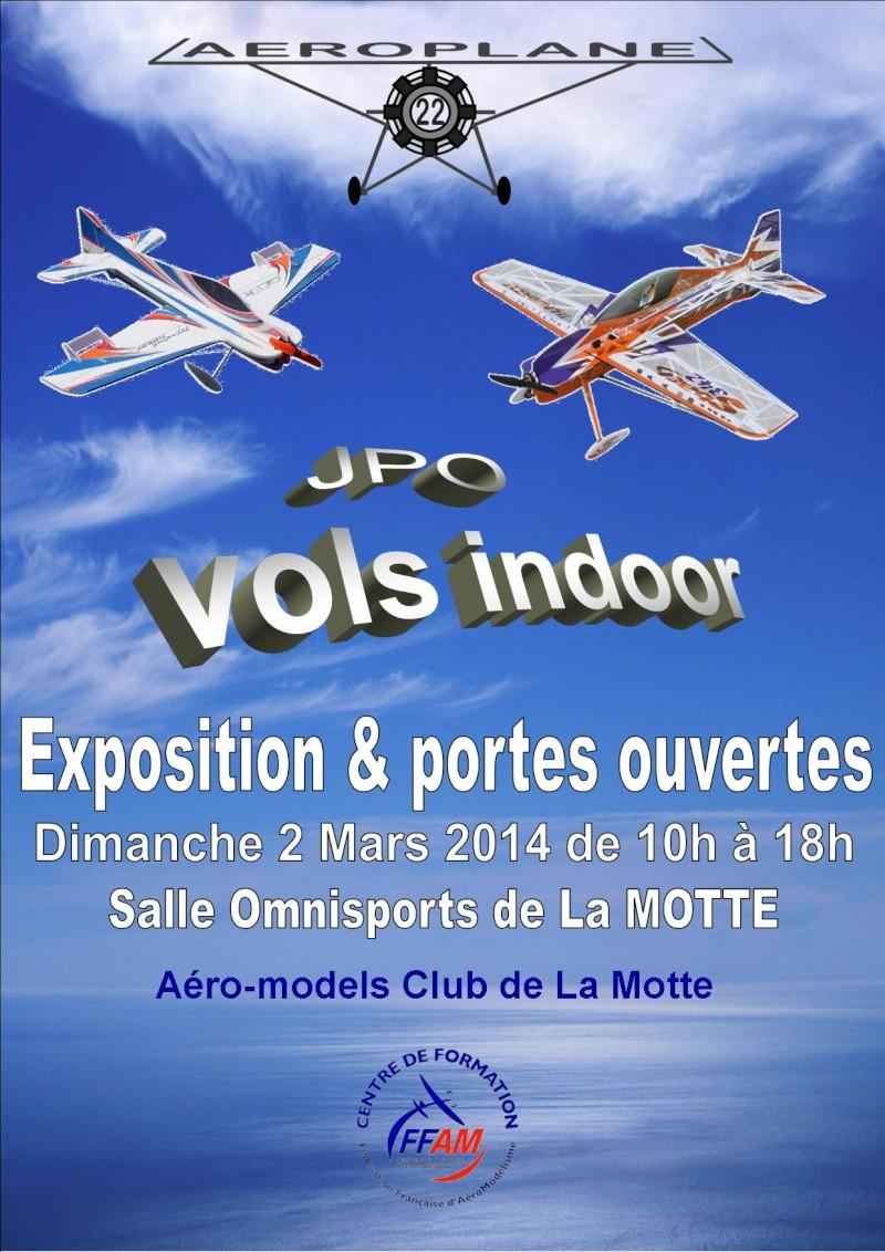 Exposition & portes ouvertes à La Motte Affich12