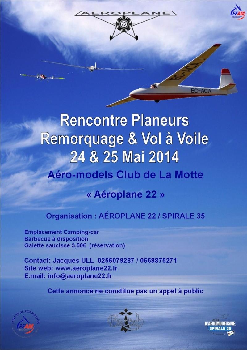 """Rencontre Vol à Voile """"Aéroplane 22"""" Affich26"""