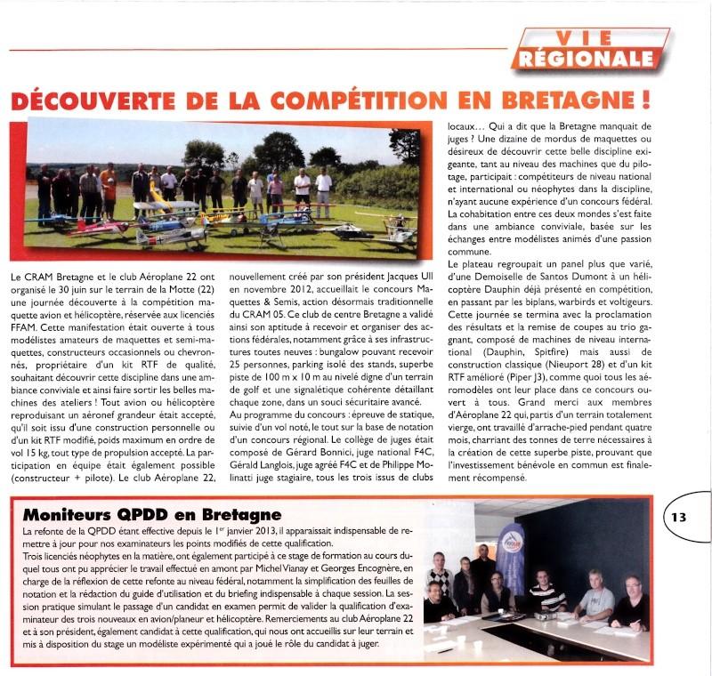 "Revue Fédérale ""AEROMODELES"" n° 93  Presse11"