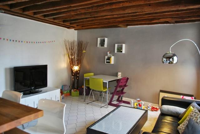 Notre future maison :Aménager cuisine/séjour Salon110