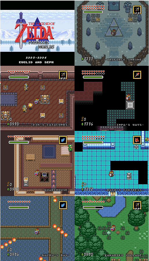 The Legend of Zelda - Parallel Remodel Zelda313