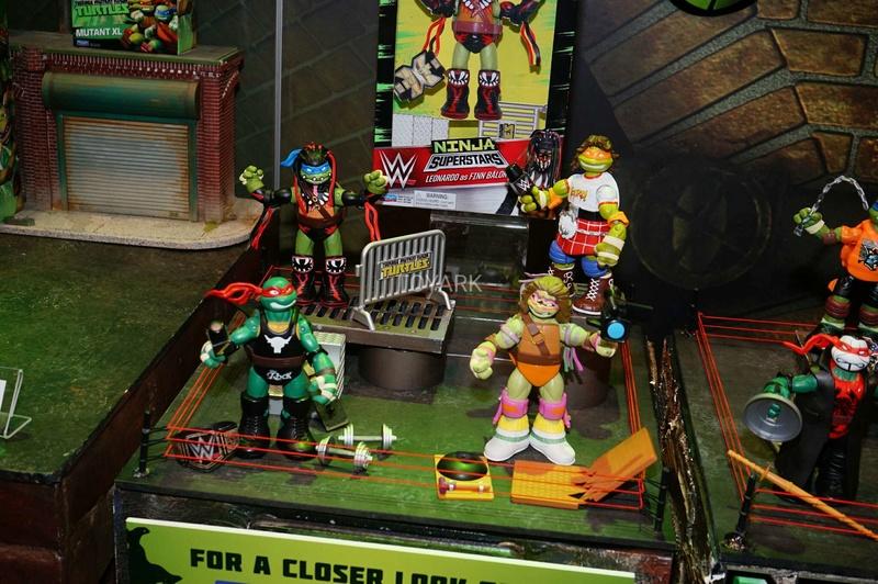 TMNT Playmates toy fair 2017 P1010016