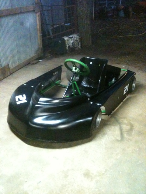 Dirt Oval Racing Go Kart For 2014 Img_1011