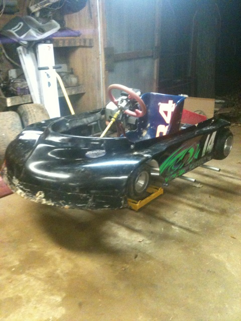 Dirt Oval Racing Go Kart For 2014 Img_1810