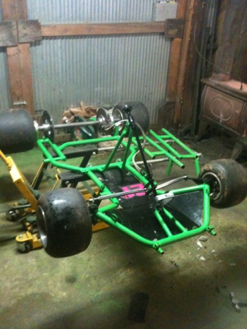 Dirt Oval Racing Go Kart For 2014 Img_1910