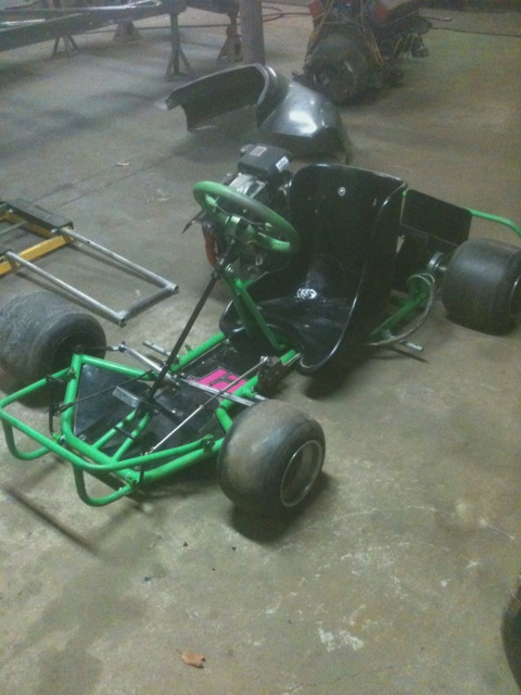 Dirt Oval Racing Go Kart For 2014 Img_2310