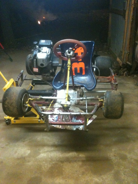 Dirt Oval Racing Go Kart For 2014 Img_3410