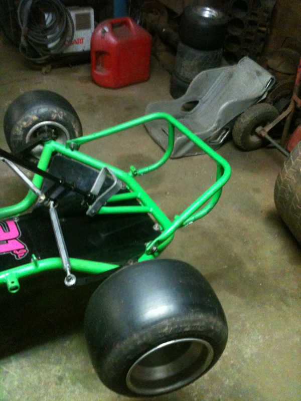 Dirt Oval Racing Go Kart For 2014 Img_3510