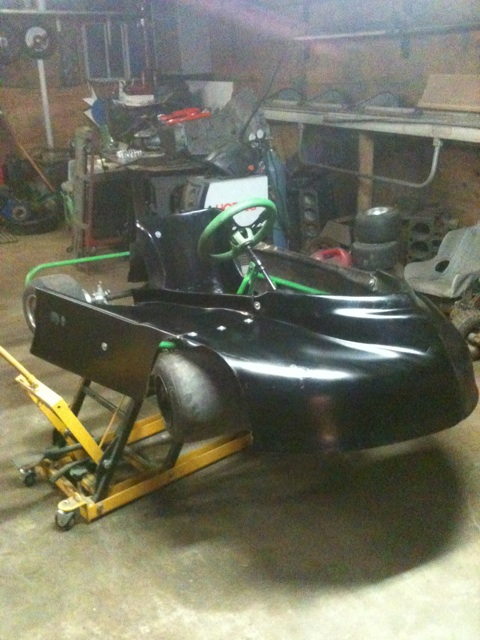 Dirt Oval Racing Go Kart For 2014 Img_3810