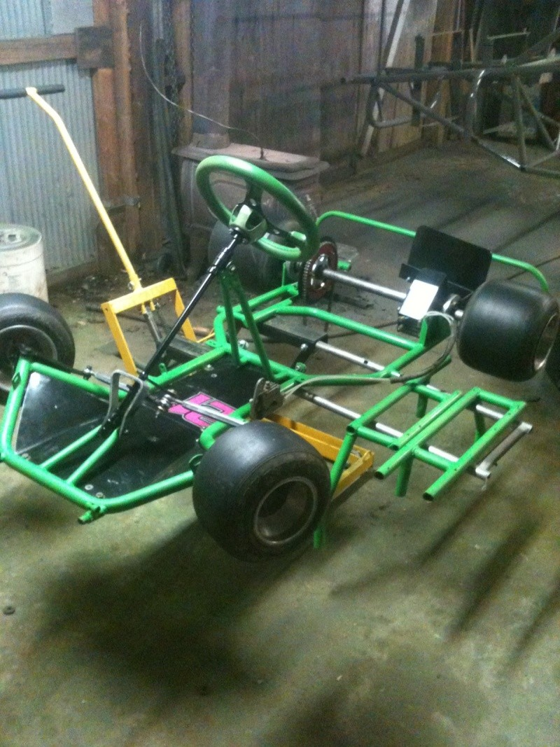 Dirt Oval Racing Go Kart For 2014 Img_4010