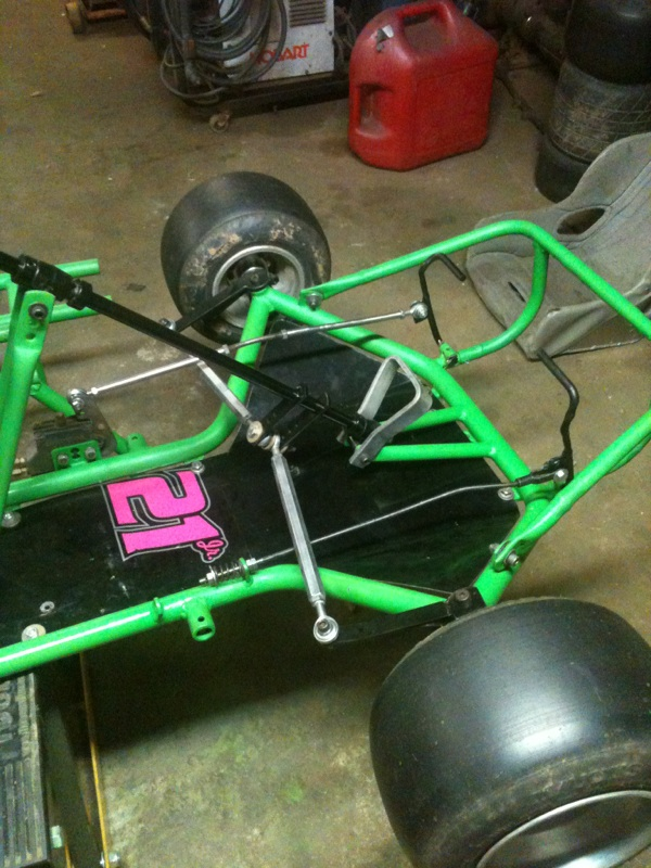 Dirt Oval Racing Go Kart For 2014 Img_5910