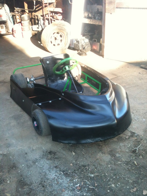 Dirt Oval Racing Go Kart For 2014 Img_5911