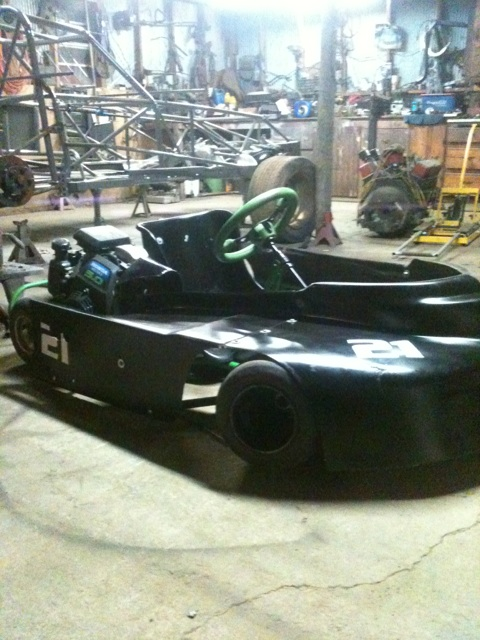 Dirt Oval Racing Go Kart For 2014 Img_6810