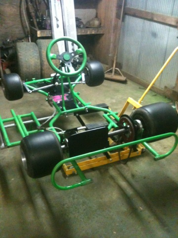 Dirt Oval Racing Go Kart For 2014 Img_8610