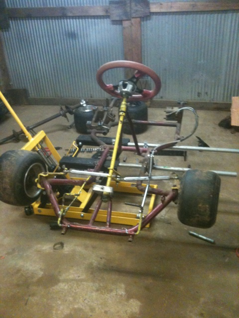 Dirt Oval Racing Go Kart For 2014 Img_9710