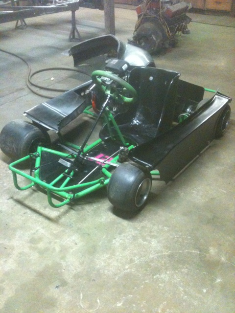 Dirt Oval Racing Go Kart For 2014 Img_9810