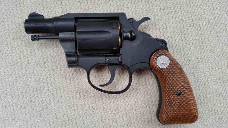 TANAKA Colt Detective Special HWABS Tanaka10