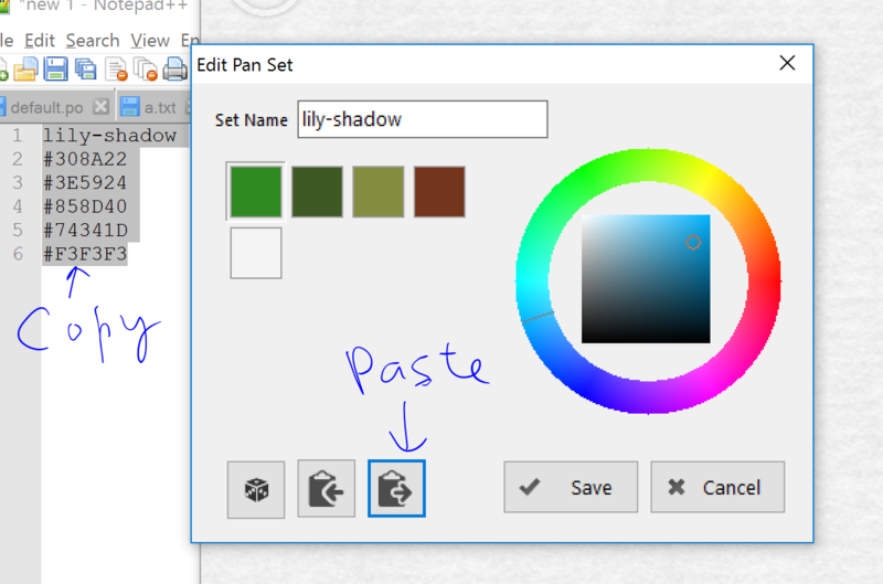 access violation error when editing colors in advanced mode Color_10
