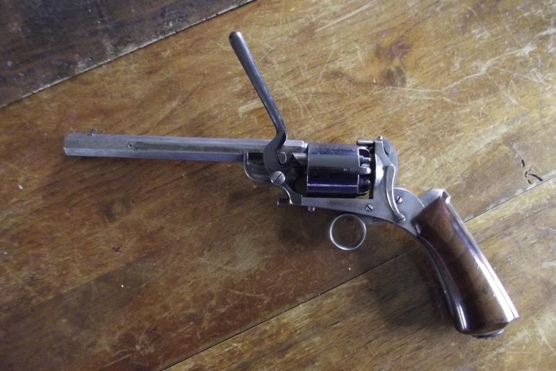 Revolver à percussion Herman David, entre 1856 et 1858. Dscf2913