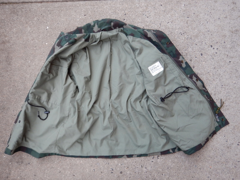 Another ( unpatched ) garrison field coat Dscn5712
