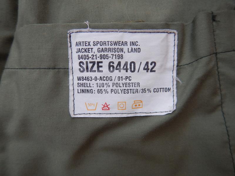 Another ( unpatched ) garrison field coat Dscn5714