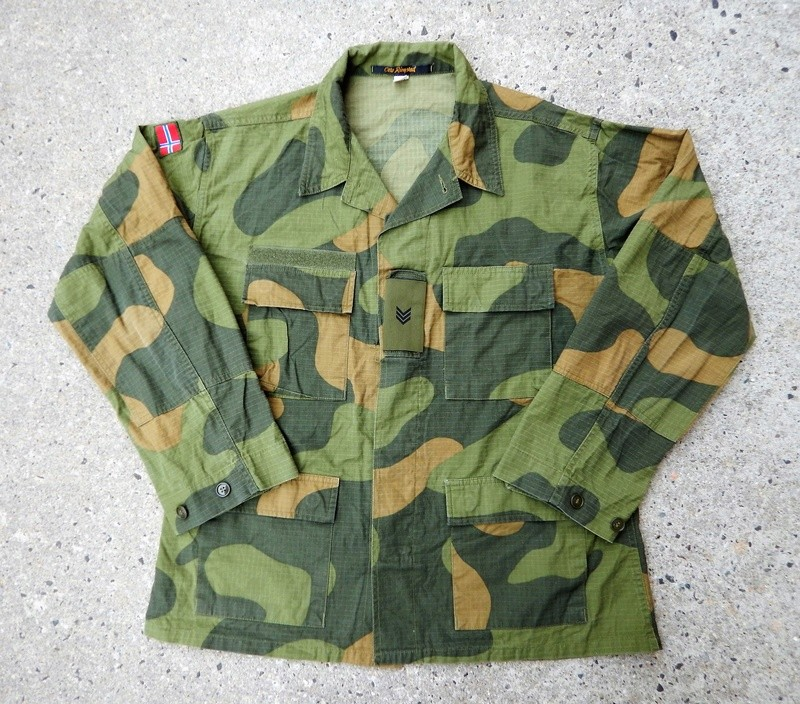 Current issue ripstop  camouflage uniforms Dscn6028