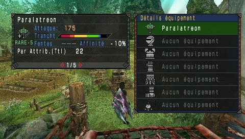 [ MHP3rd ] Ajouter des nouvelles armes Uljm-018