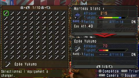 [ MHP3rd ] Ajouter des nouvelles armes Uljm-019
