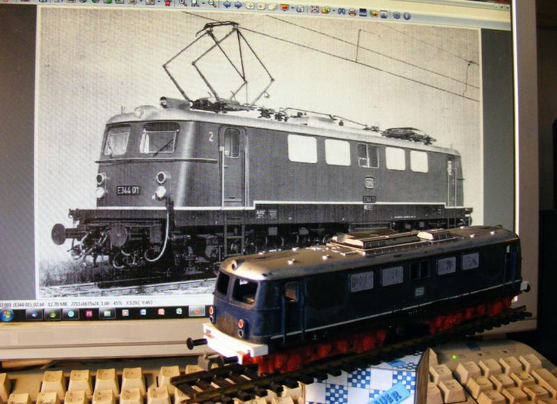 E344 01 - eine Lok für DB und SNCF Dscf6829