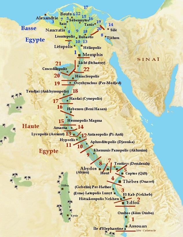 L'histoire d'Egypte Carte_10