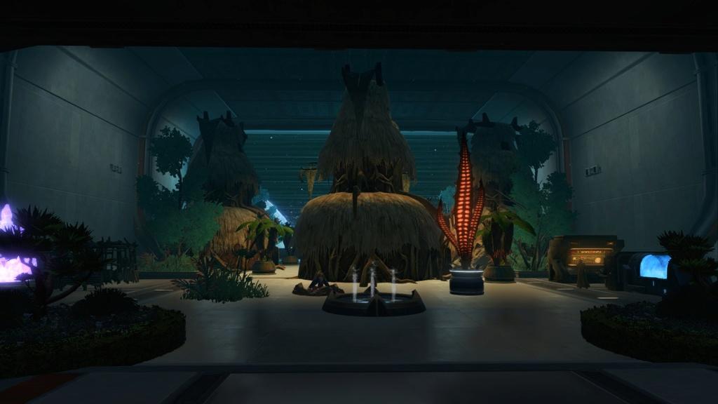 Petite visite du vaisseau amiral des Galactic Hackers: le Ghost Memory Harbor... Screen11