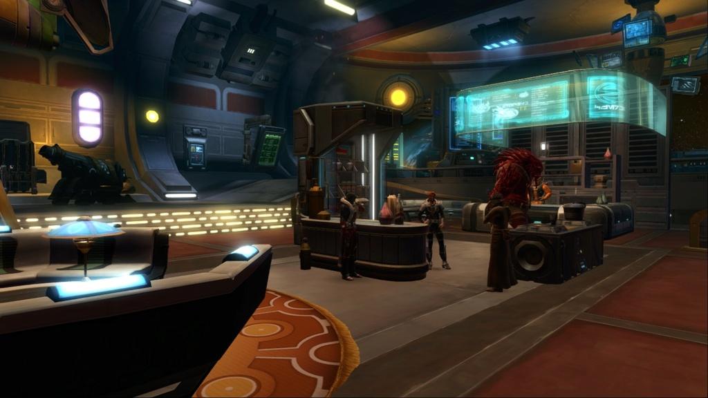 Petite visite du vaisseau amiral des Galactic Hackers: le Ghost Memory Harbor... Screen14