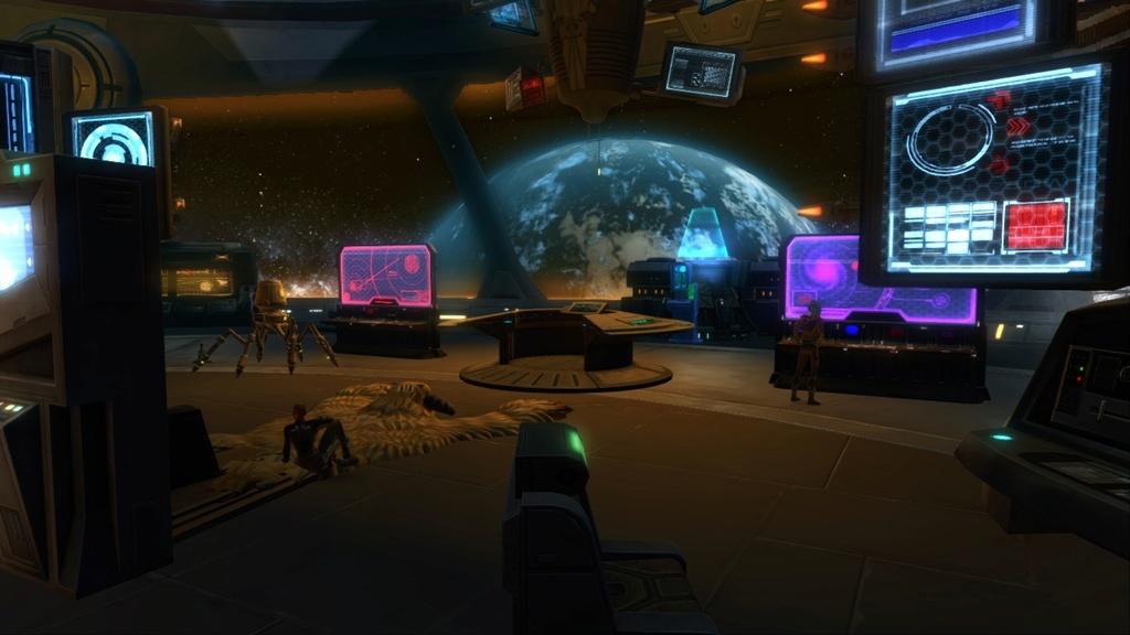 Petite visite du vaisseau amiral des Galactic Hackers: le Ghost Memory Harbor... Screen15