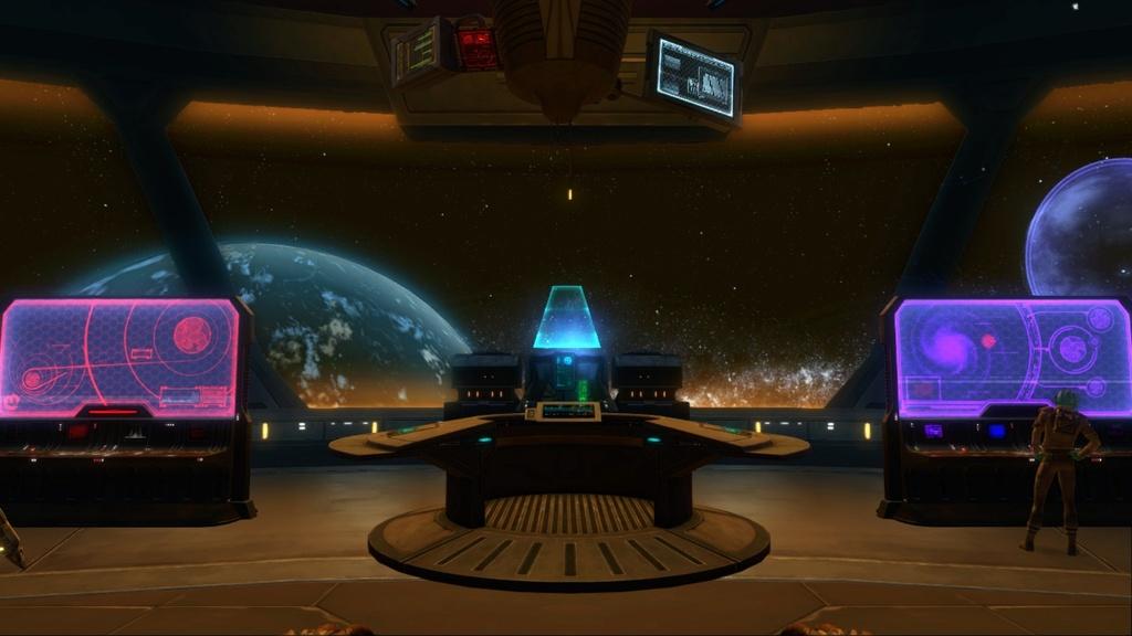 Petite visite du vaisseau amiral des Galactic Hackers: le Ghost Memory Harbor... Screen16