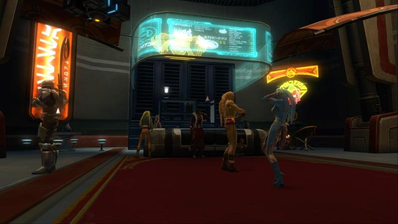 Petite visite du vaisseau amiral des Galactic Hackers: le Ghost Memory Harbor... Screen17