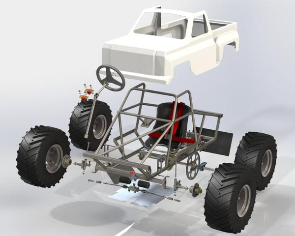 My personal review and comments on the: Mini Monster Truck Plans from The Edge Products. Full_k10