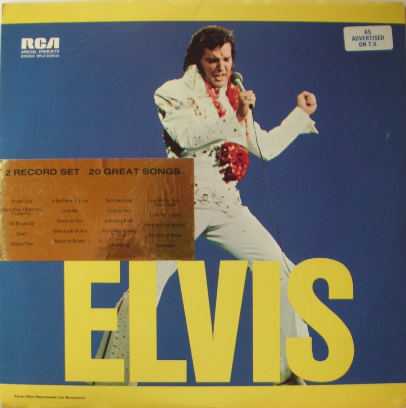 ELVIS SPECIAL PRODUCTS ON TV / ELVIS COMMEMORATIVE ALBUM 010