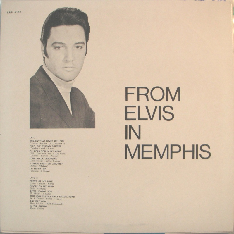 FROM ELVIS IN MEMPHIS 10a11