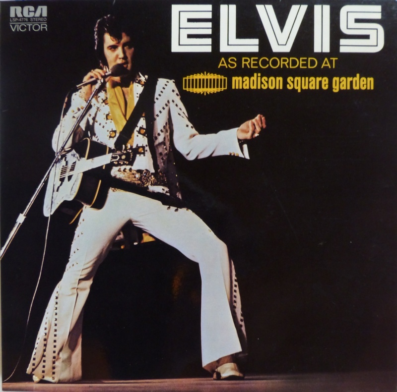 ELVIS AS RECORDED AT MADISON SQUARE GARDEN 1_197210