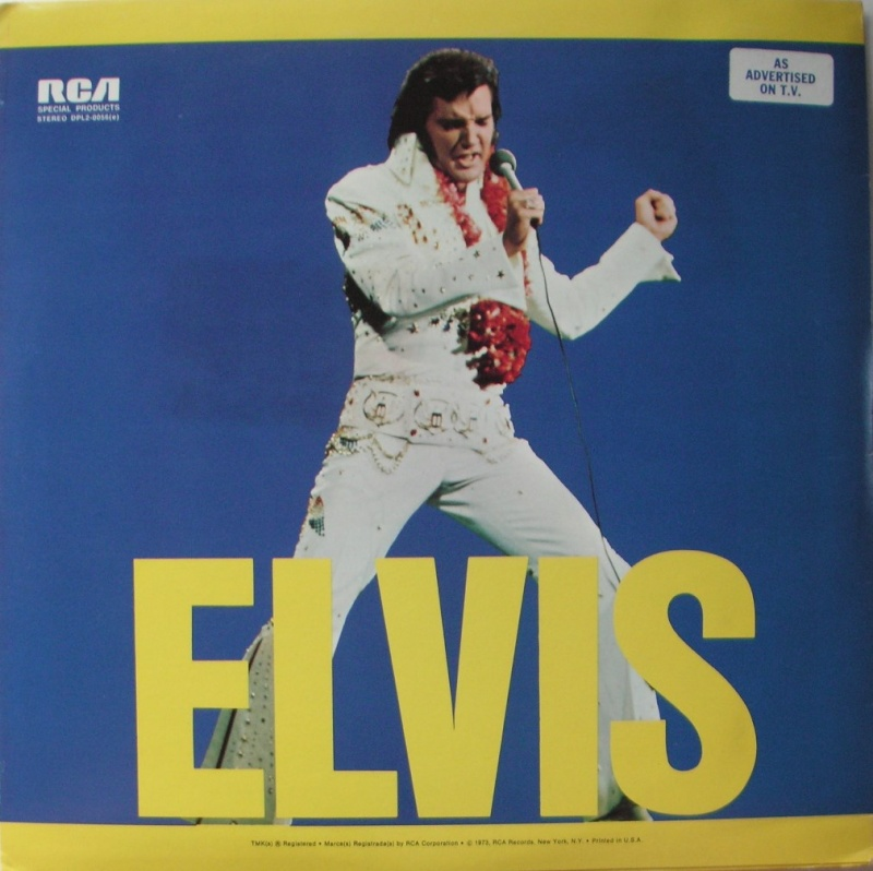 ELVIS SPECIAL PRODUCTS ON TV / ELVIS COMMEMORATIVE ALBUM 1a15