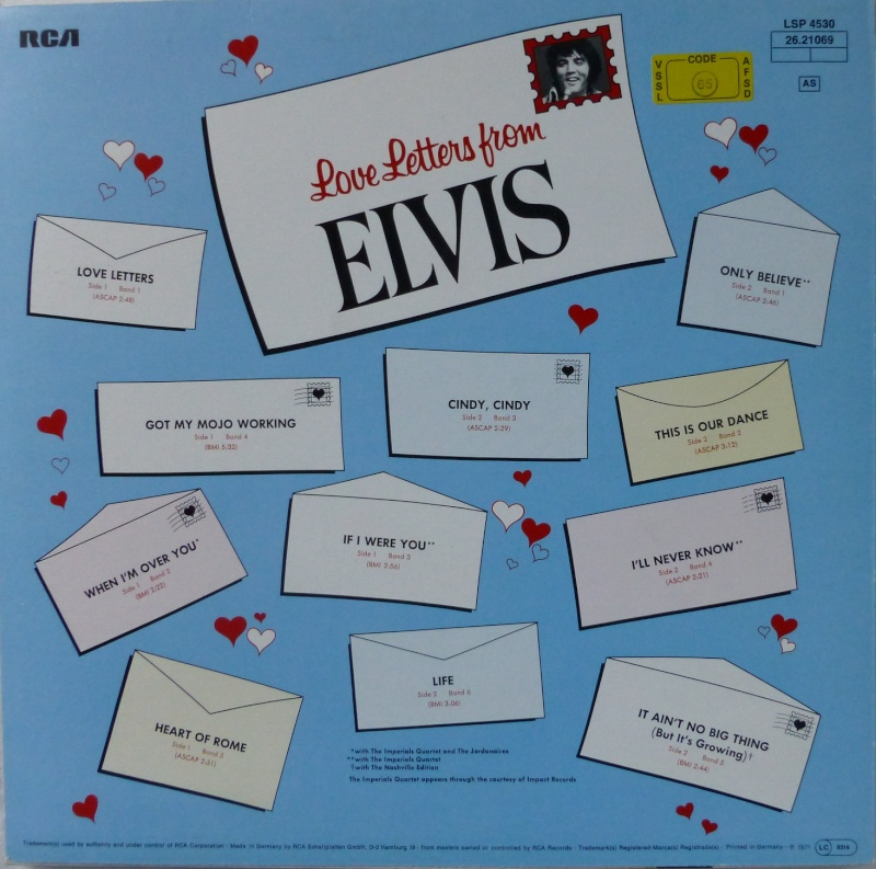 LOVE LETTERS FROM ELVIS 1a19