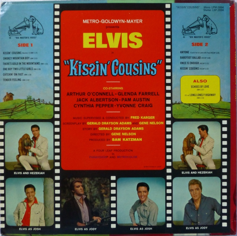 KISSIN' COUSINS 1a26