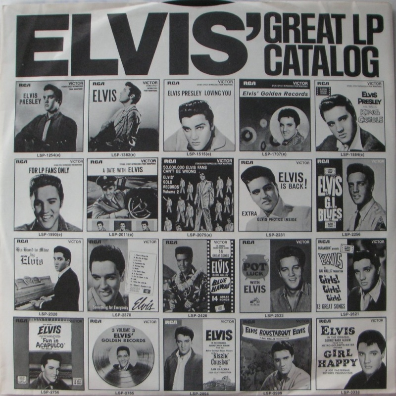 ELVIS SPECIAL PRODUCTS ON TV / ELVIS COMMEMORATIVE ALBUM 1b24
